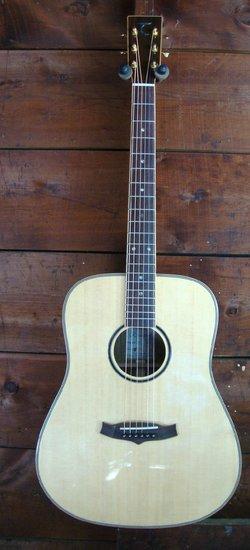 tanglewood western guitar design